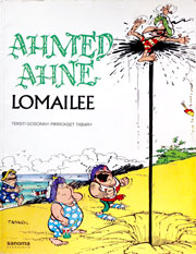 Ahmed Ahne lomailee